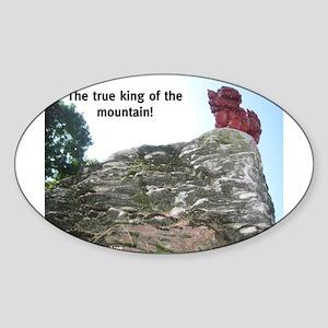 Mount Foo Sticker (Oval)