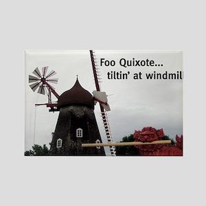 Quixote Foo Rectangle Magnet