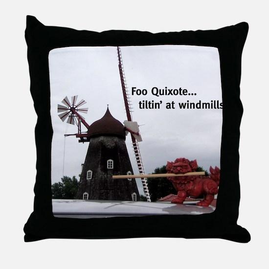 Quixote Foo Throw Pillow