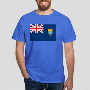 St. Helena Flag Dark T-Shirt