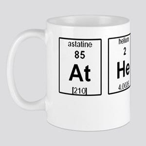 Atheism Element Symbols Mug
