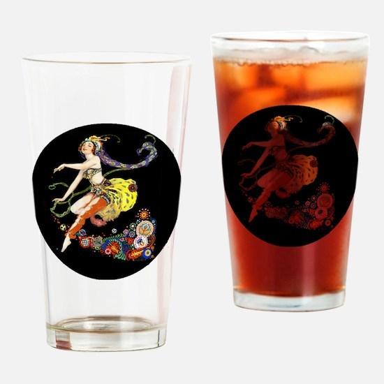 Art Deco Pogany Dancer Drinking Glass