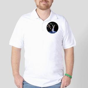 Art Deco Tsanya Night Dancer Golf Shirt