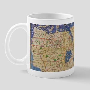 Al-Idrisi's world map, 1154 Mug
