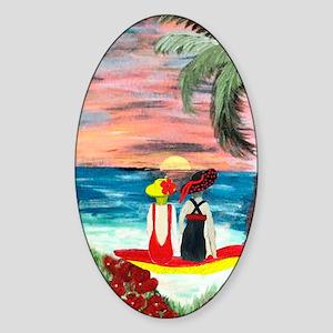 Endless Summer Sticker (Oval)