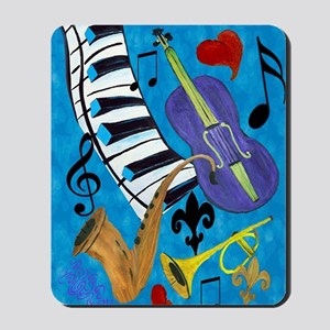 Jazz Music Mousepad