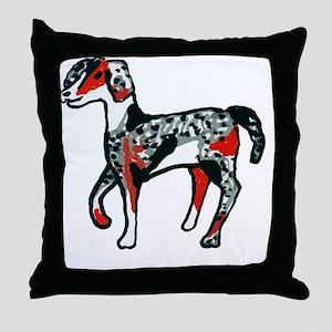 Aussiedoodle - Summercut Throw Pillow