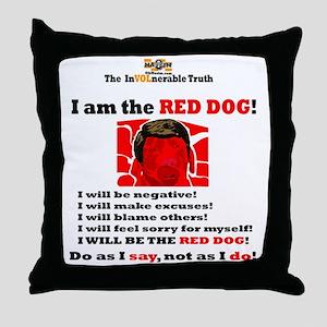 Dool InVol Edited Throw Pillow