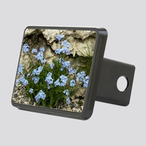 Alpine Forget-me-not (Myos Rectangular Hitch Cover