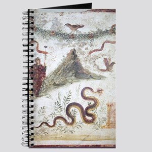Bacchus and Vesuvius, Roman fresco Journal