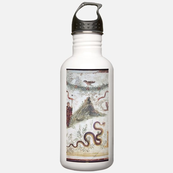 Bacchus and Vesuvius,  Water Bottle