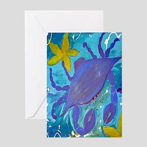 Crab Island Greeting Card