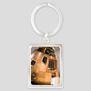 Apollo 10 command module Portrait Keychain