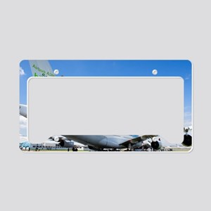 Airbus A380 License Plate Holder