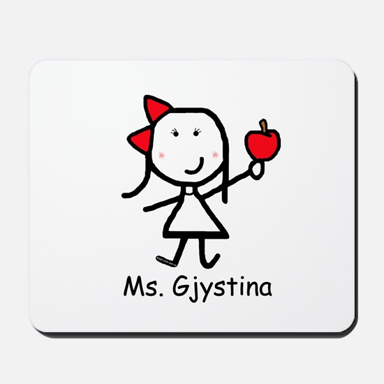 Apple - Gjystina Mousepad
