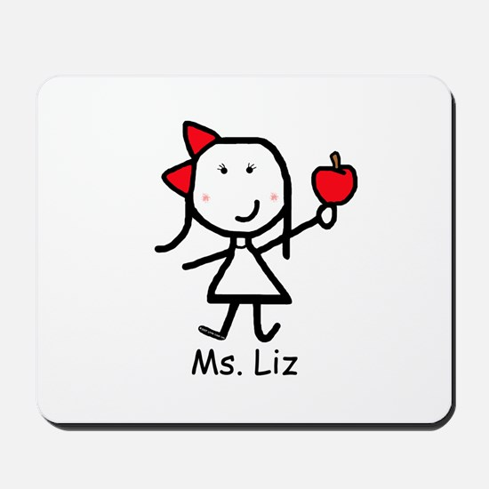 Apple - Liz Mousepad