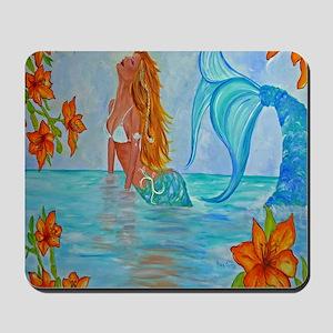 The Wisdom Seeker Mermaid  by Alecia Mousepad
