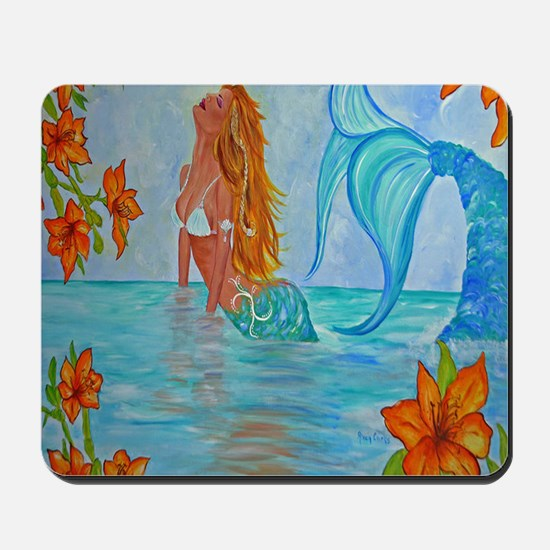 The Wisdom Seeker Mermaid  by Alecia Mousepad