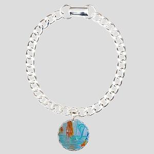 The Wisdom Seeker Mermai Charm Bracelet, One Charm