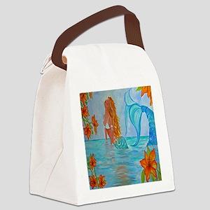 The Wisdom Seeker Mermaid  by Ale Canvas Lunch Bag