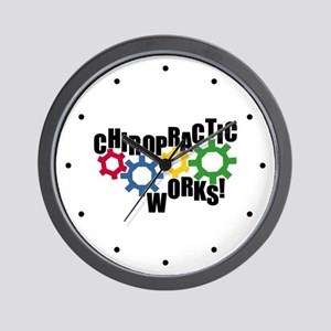 Chiropractic Works Wall Clock