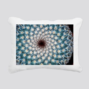 Cactus spines Rectangular Canvas Pillow