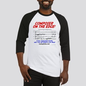 composer on the edge Baseball Jersey