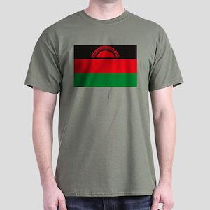 Malawi Flag Dark T-Shirt