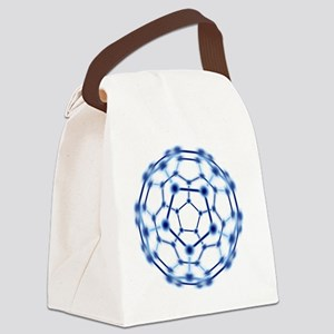 Buckminsterfullerene Canvas Lunch Bag