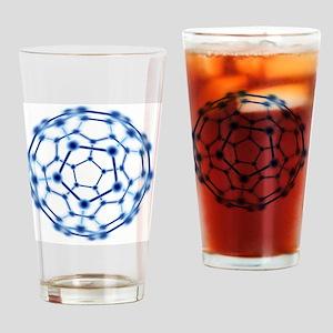 Buckminsterfullerene Drinking Glass