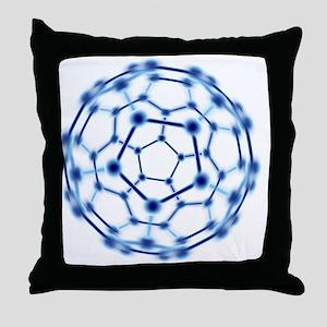 Buckminsterfullerene Throw Pillow