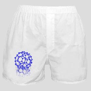 Buckyball molecule Boxer Shorts