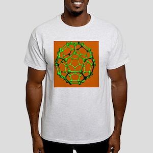 Buckminsterfullerene molecule Light T-Shirt