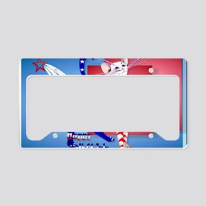 Yardsign 4th Of July American License Plate Holder