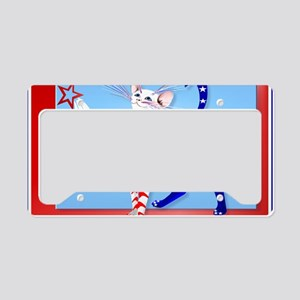 Yardsign An American Cat License Plate Holder