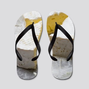 Brie slice and cheese knife Flip Flops