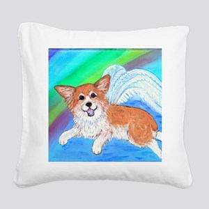 Perfect wings Square Canvas Pillow