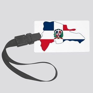 Dominican Republic Large Luggage Tag