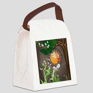 Fairy, Sweet princess Canvas Lunch Bag