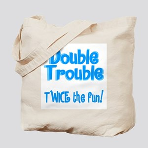 TwinBaby Double Trouble Tote Bag