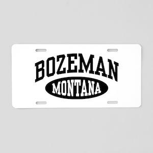 Bozeman Montana Aluminum License Plate
