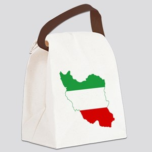 Iran(tricolour) Canvas Lunch Bag