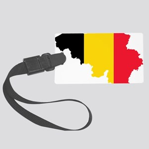 Belgium Large Luggage Tag