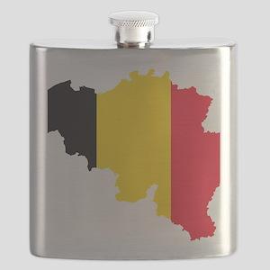Belgium Flask