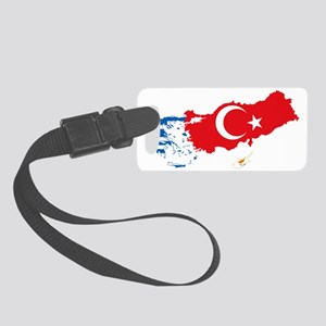 Greece Turkey Cyprus Small Luggage Tag