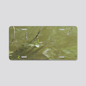 River Branches Aluminum License Plate