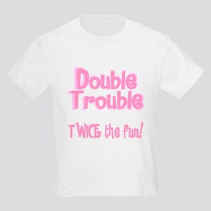 TwinBaby Double Trouble Kids T-Shirt