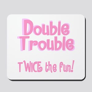 TwinBaby Double Trouble Mousepad