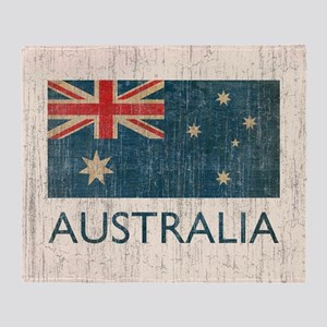 VintageAustralia Throw Blanket
