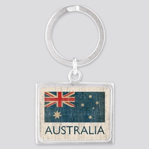VintageAustralia Landscape Keychain